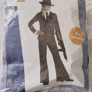 3 for $30❤Gangster girl costume age 12-14